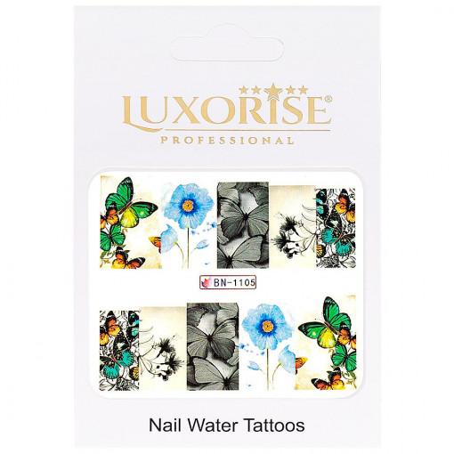 Poze Tatuaj unghii Nature BN-1105, LUXORISE
