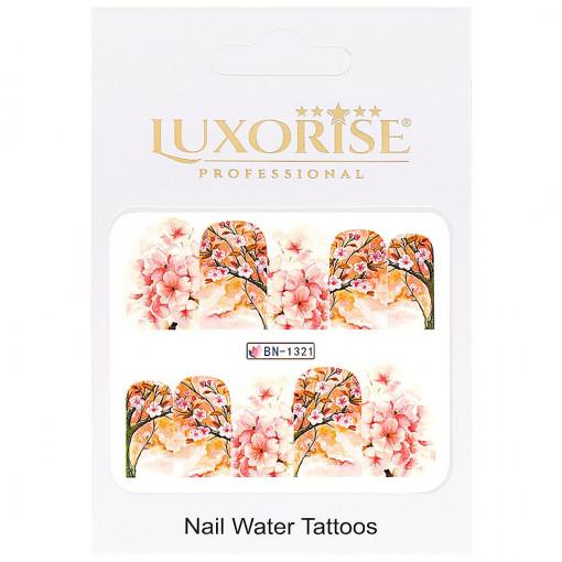 Poze Tatuaj Unghii Nature BN-1321, LUXORISE