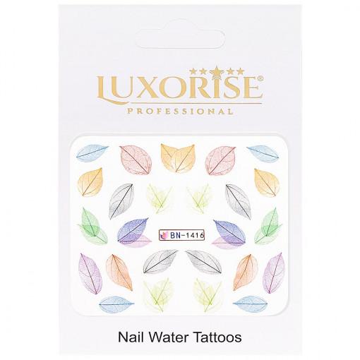 Poze Tatuaj Unghii Nature BN-1416, LUXORISE