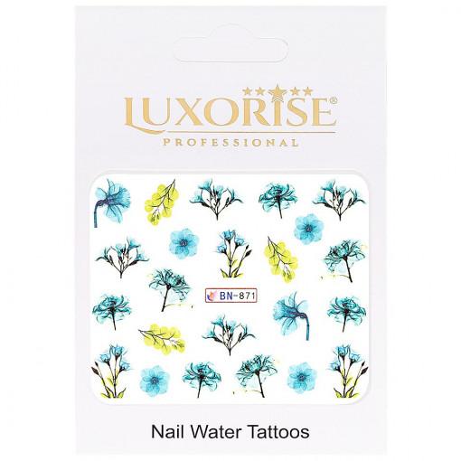 Poze Tatuaj unghii Nature BN-871, LUXORISE