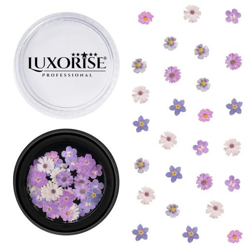 Poze Decoratiuni Unghii Nail Art Electric Flowers, LUXORISE