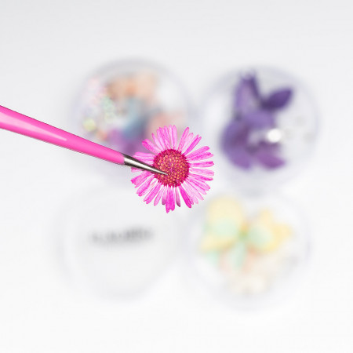 Poze Flori Uscate Unghii cu cristale - Floral Fairytale #22 LUXORISE