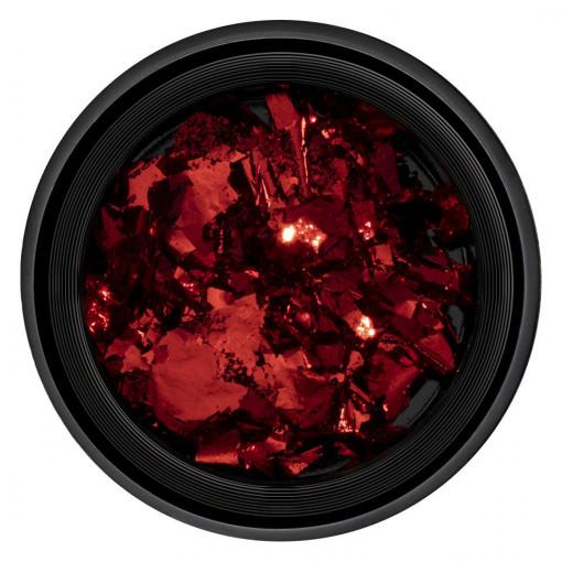 Poze Foita Unghii Unique Red #10, LUXORISE
