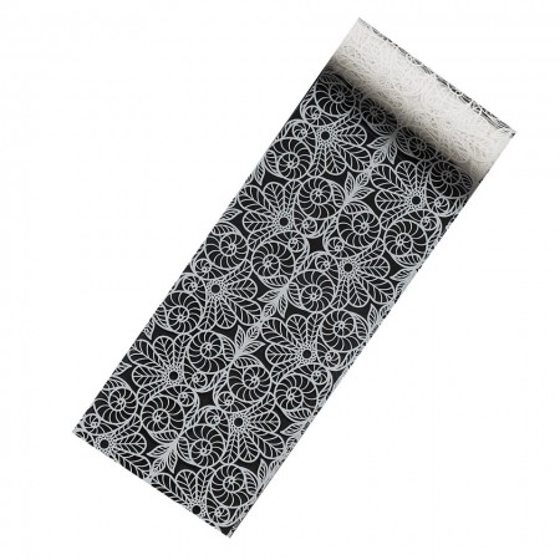 Poze Folie Transfer Unghii LUXORISE Crocheted Bag #263