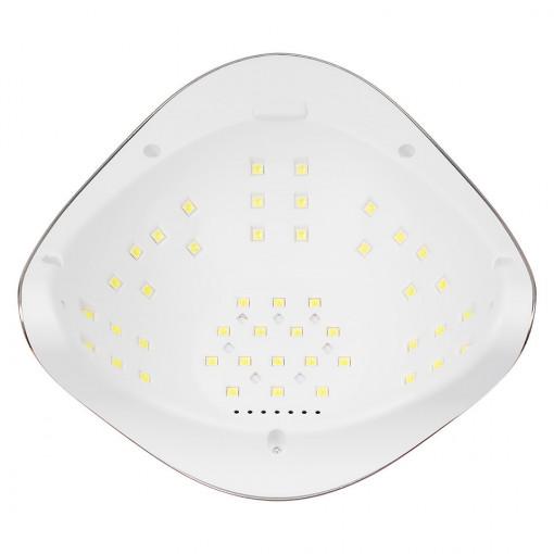 Poze Lampa UV LED 72W Evolution PRO LUXORISE, Rose Gold