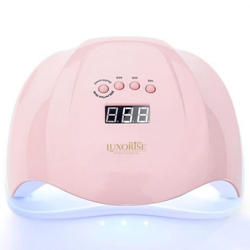 Poze Lampa UV LED LUXORISE ULTIMATE PRO 54W, Display Digital, Roz