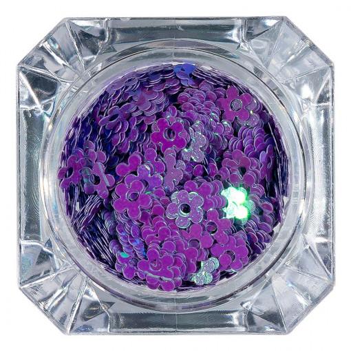 Poze Paiete Unghii Lovely Flowers #03, LUXORISE