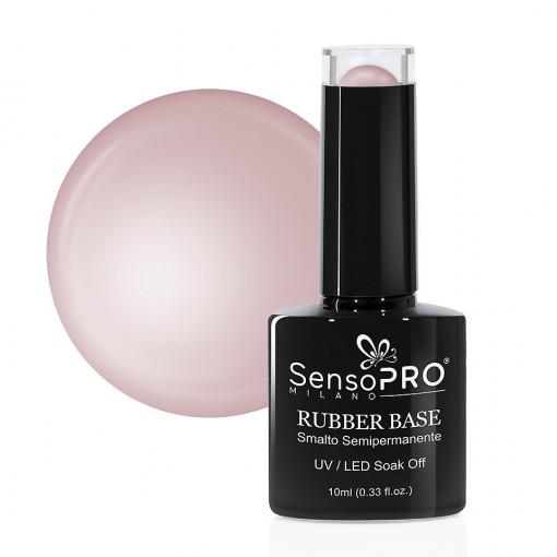 Poze Rubber Base Gel SensoPRO Milano 10ml, Secret Nude 13