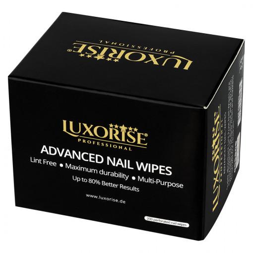 Poze Servetele Perforate Unghii Advanced Nail Wipes, LUXORISE, 200 buc