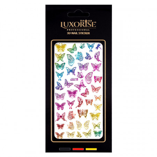 Poze Sticker Unghii Butterfly DP2018, LUXORISE