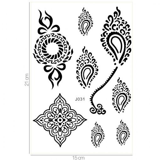 Poze Tatuaj Temporar LUXORISE Flowing Soul J031