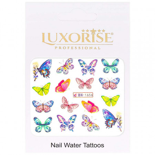 Poze Tatuaj Unghii Butterfly BN-1656, LUXORISE
