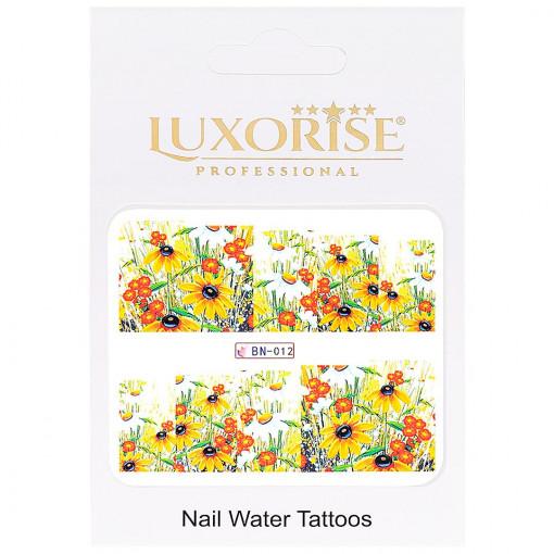 Poze Tatuaj Unghii Nature BN-012, LUXORISE