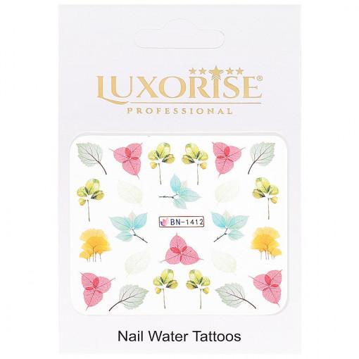 Poze Tatuaj Unghii Nature BN-1412, LUXORISE