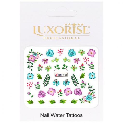 Poze Tatuaj Unghii Nature BN-925, LUXORISE