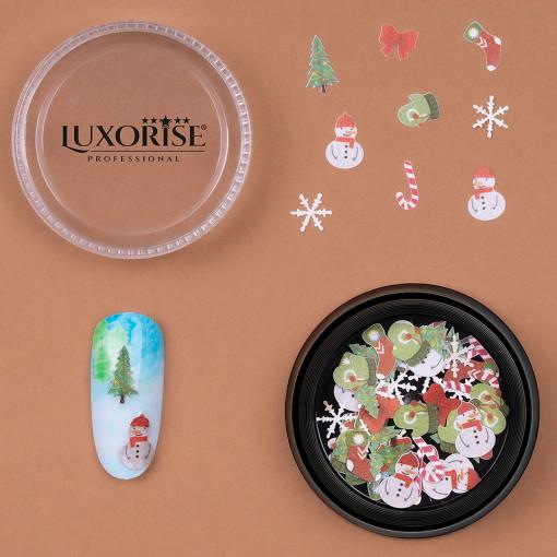 Poze Decoratiune Unghii LUXORISE Christmas Delights #11