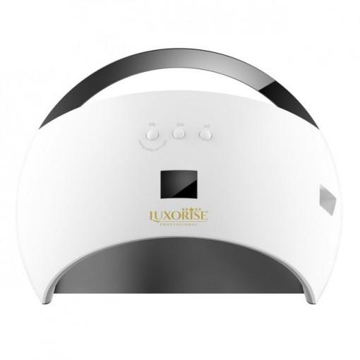 Poze Lampa UV LED LUXORISE Hybrid 48W, Display Digital SUN6, Double Light LED, Alb