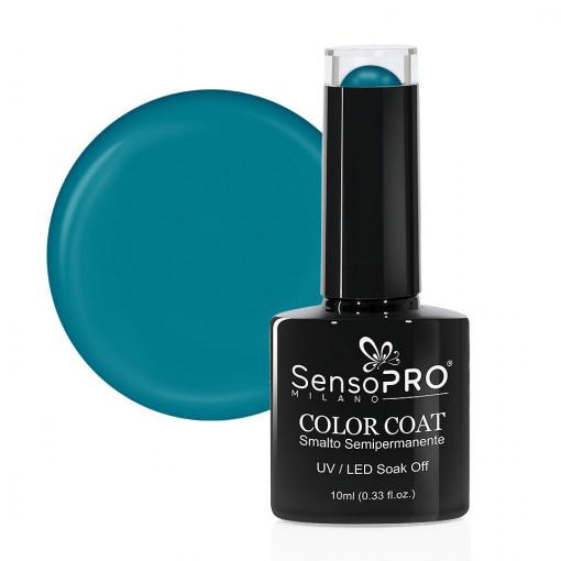 Poze Oja Semipermanenta SensoPRO Milano 140 Dreamy Turquoise, 10ml