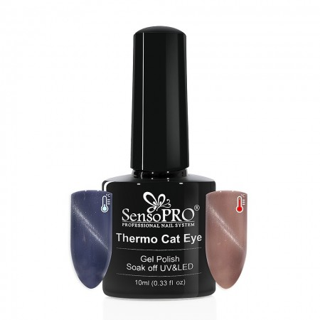 Poze Oja Semipermanenta SensoPRO Thermo Cat Eye #22, 10 ml