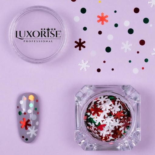 Poze Paiete Unghii LUXORISE #05 Christmas Joy