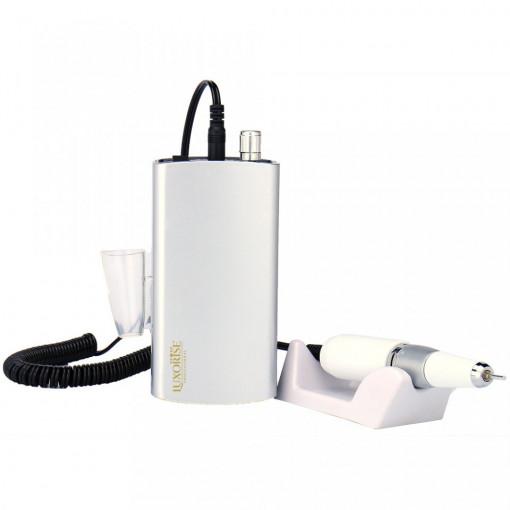 Poze Pila electrica portabila unghii LUXORISE Revolution PRO, 30.000 RPM, Silver