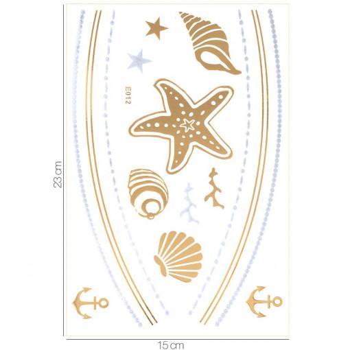 Poze Tatuaj Temporar LUXORISE Gold Edition E012