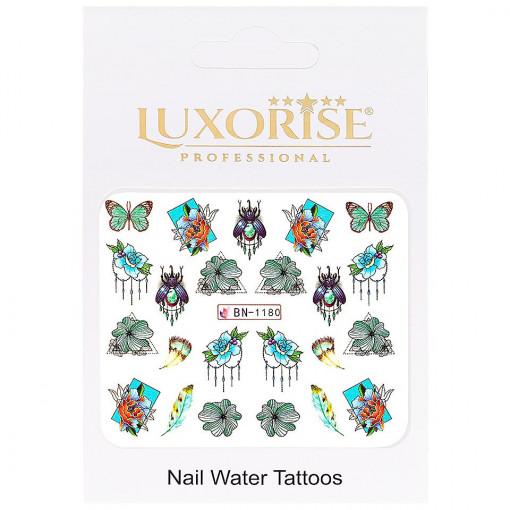 Poze Tatuaj unghii Butterfly BN-1180, LUXORISE