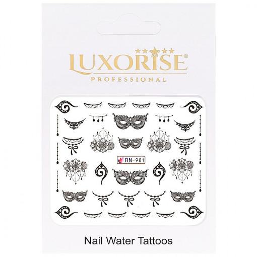 Poze Tatuaj unghii Fantasy BN-981, LUXORISE
