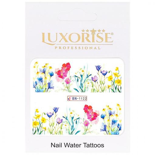 Poze Tatuaj unghii Nature BN-1122, LUXORISE
