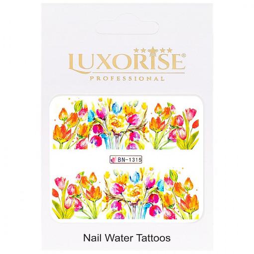Poze Tatuaj unghii Nature BN-1315, LUXORISE