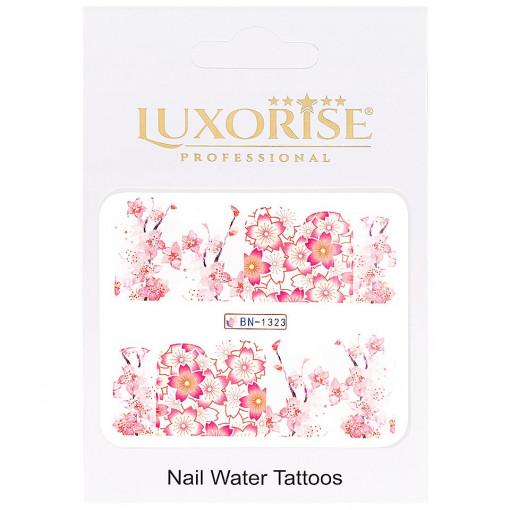 Poze Tatuaj Unghii Nature BN-1323, LUXORISE