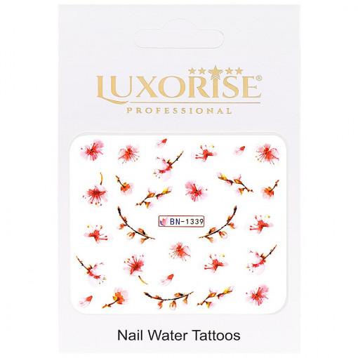 Poze Tatuaj unghii Nature BN-1339, LUXORISE