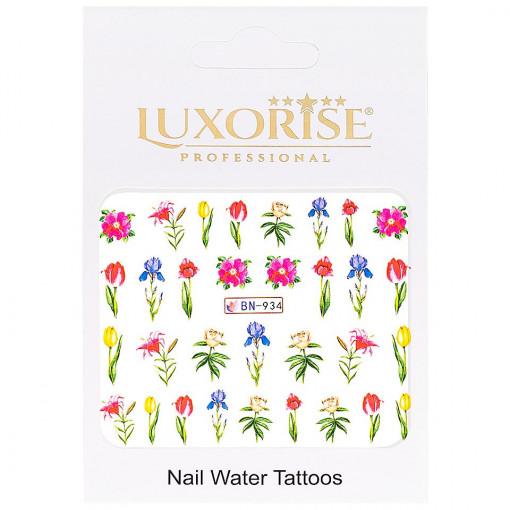 Poze Tatuaj unghii Nature BN-934, LUXORISE
