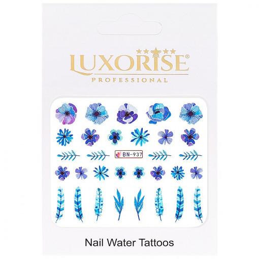 Poze Tatuaj Unghii Nature BN-937, LUXORISE