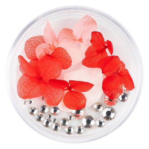 Poze Flori Uscate Unghii cu cristale - Floral Fairytale #13 LUXORISE