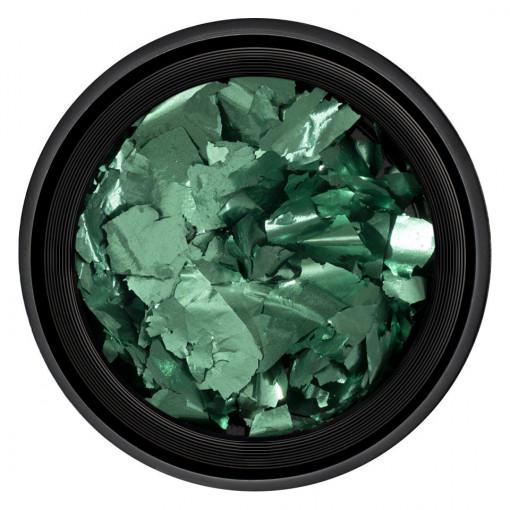 Poze Foita Unghii Unique Green Gem #14, LUXORISE