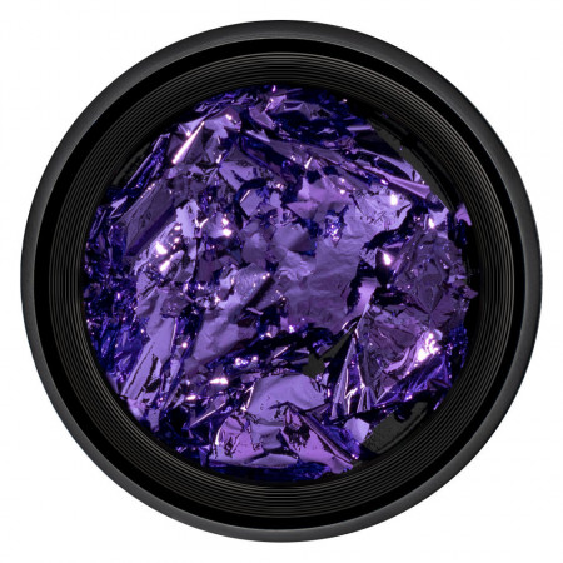 Poze Foita Unghii Unique Purple #18, LUXORISE