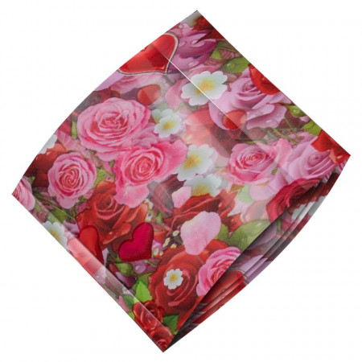 Poze Folie Transfer LUXORISE #471 Lovely Flowers