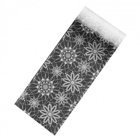Poze Folie Transfer Unghii LUXORISE Frosted Flowers #265