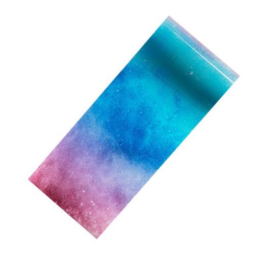 Poze Folie Transfer Unghii LUXORISE Purple Sky #322