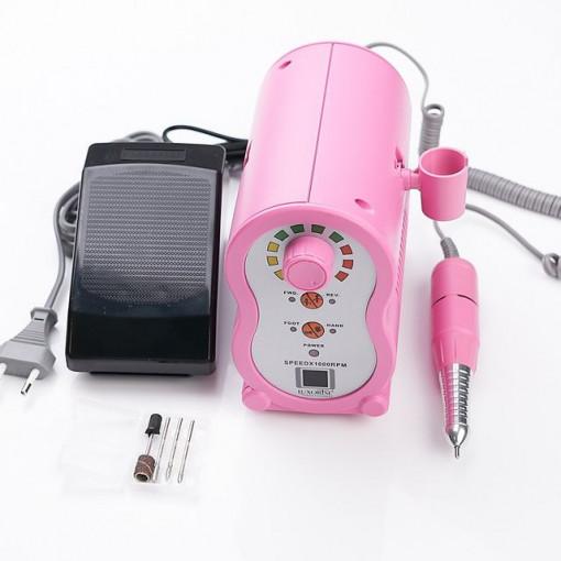 Poze Freza unghii electrica LUXORISE X-PERT Ultra, 35.000 RPM, Pink