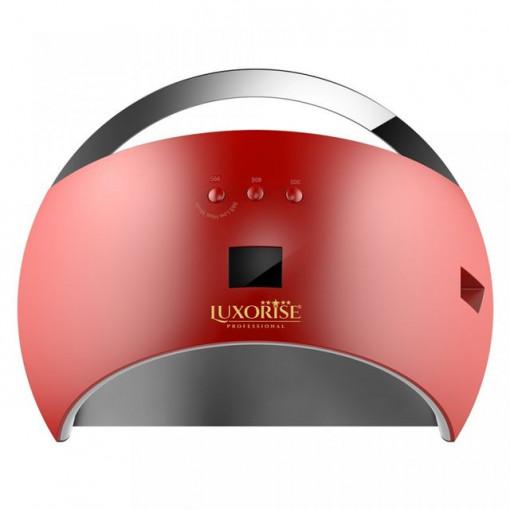 Poze Lampa UV LED LUXORISE Hybrid 48W, Display Digital SUN6, Double Light LED, Rosu