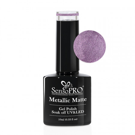 Poze Oja Semipermanenta Metallic Matte SensoPRO #05 Persian Plum, 10ml