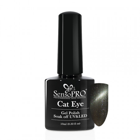 Poze Oja Semipermanenta SensoPRO Cat Eye AList #008, 10ml