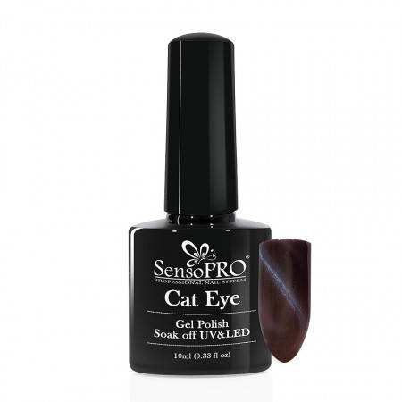Poze Oja Semipermanenta SensoPRO Cat Eye Galaxy Blue #040, 10ml