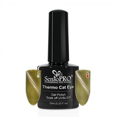 Poze Oja Semipermanenta SensoPRO Thermo Cat Eye #02, 10 ml
