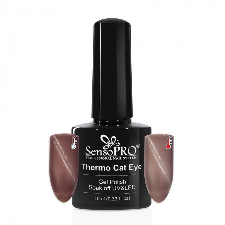 Poze Oja Semipermanenta SensoPRO Thermo Cat Eye #11, 10 ml