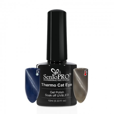 Poze Oja Semipermanenta SensoPRO Thermo Cat Eye #23, 10 ml