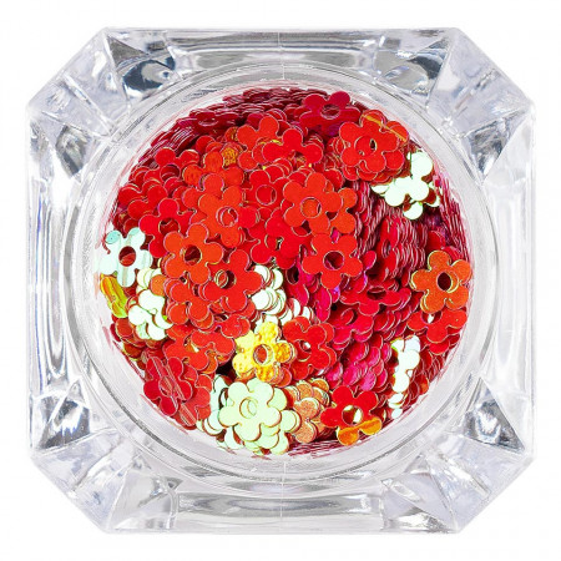 Poze Paiete Unghii Lovely Flowers #13, LUXORISE