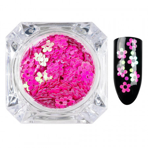 Poze Paiete Unghii Lovely Flowers #16, LUXORISE